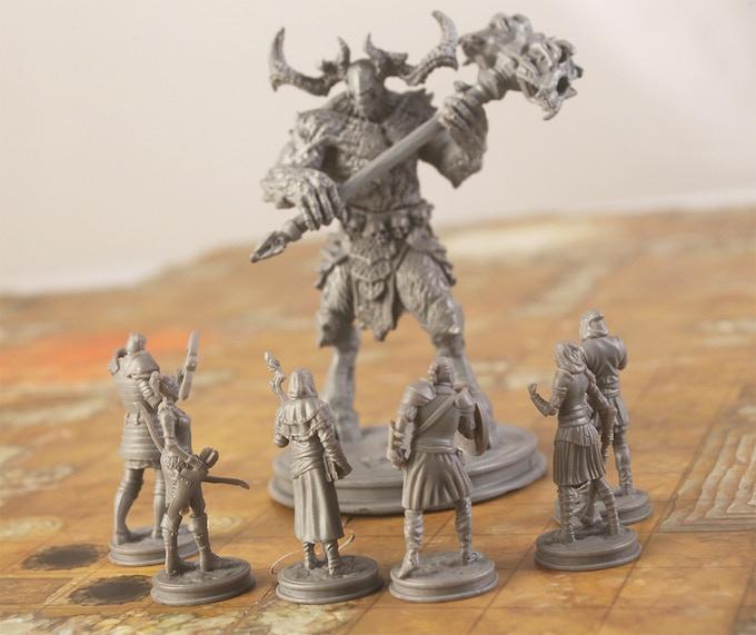Heroes facing off against Balaurus