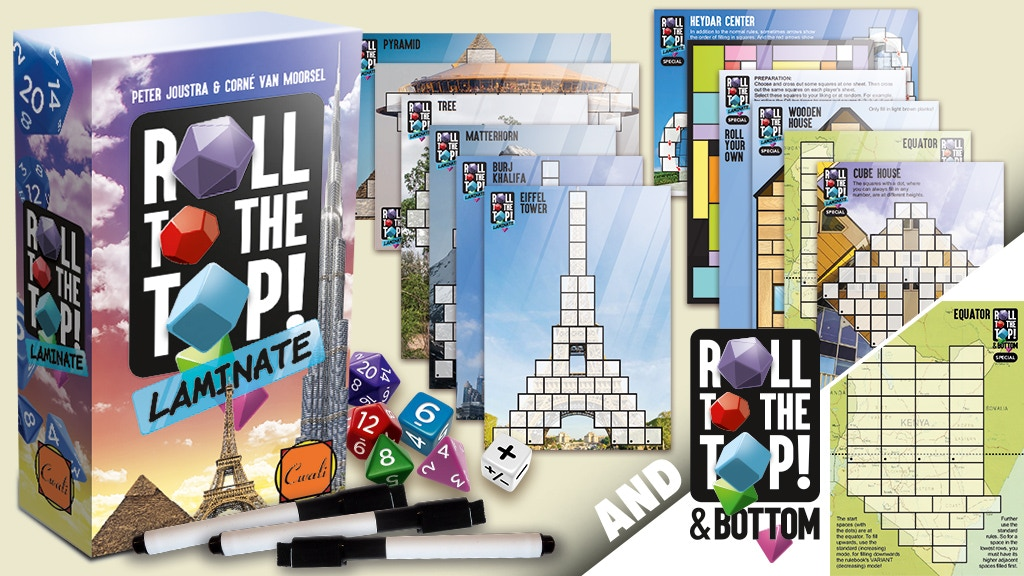 *Roll to the Top! Laminate* + *Roll to the Top&Bottom* project video thumbnail