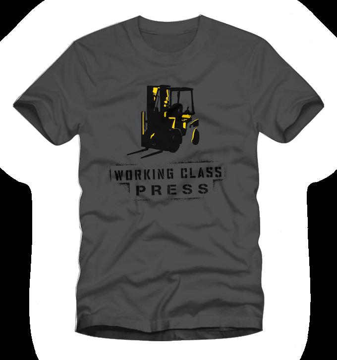 Working Class Press T-shirt (S/M/L/XL)