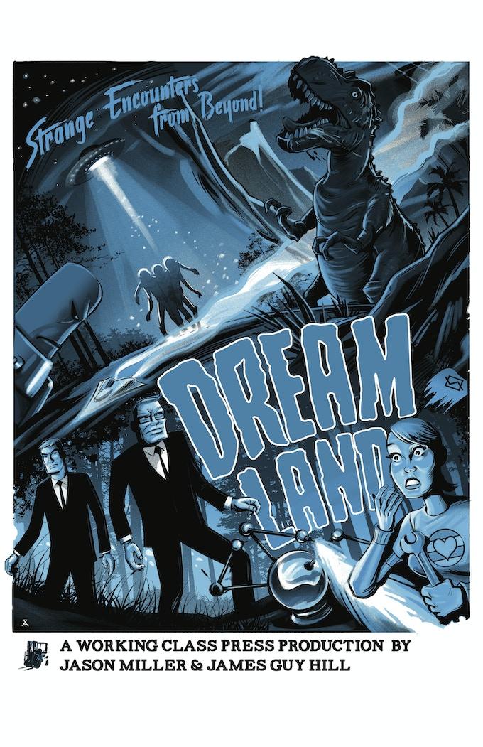 Dreamland poster by Alex Zablotsky 18x24 matte finish (blue)