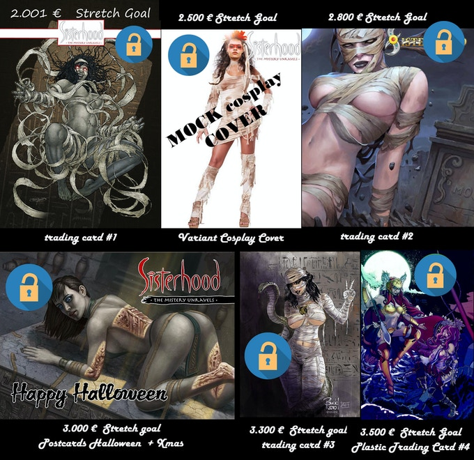 THESE ARE ALL UNLOCKED!!! Get the Cosplay Cover as add-on and get the rest for free!!!