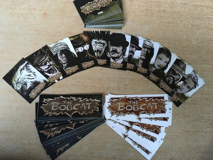 The Bobcat Trading Cards and Vinyl Decals