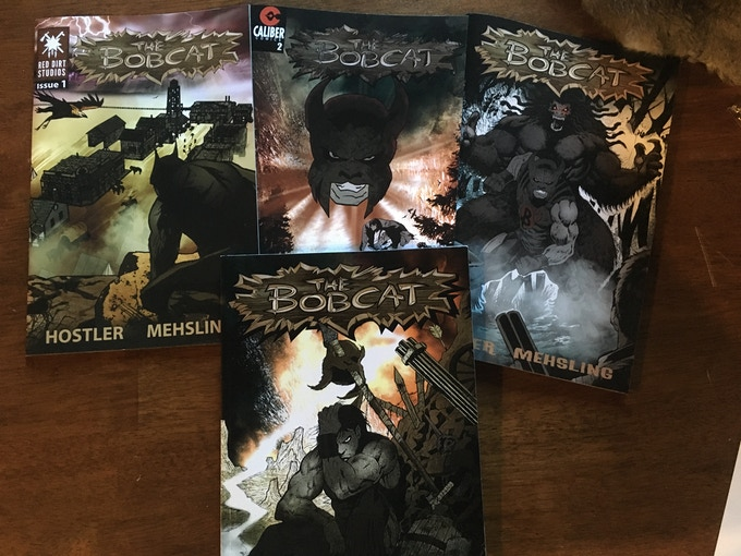 The Bobcat Issues 1,2,3, and The Trade Paperback