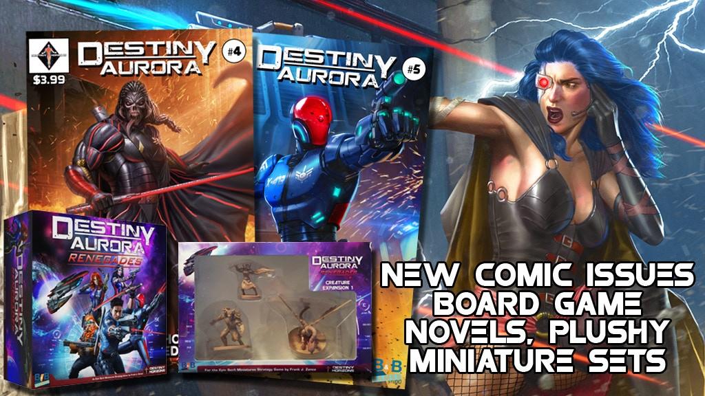 Destiny Aurora Continues - Comics - Board Game - Miniatures project video thumbnail