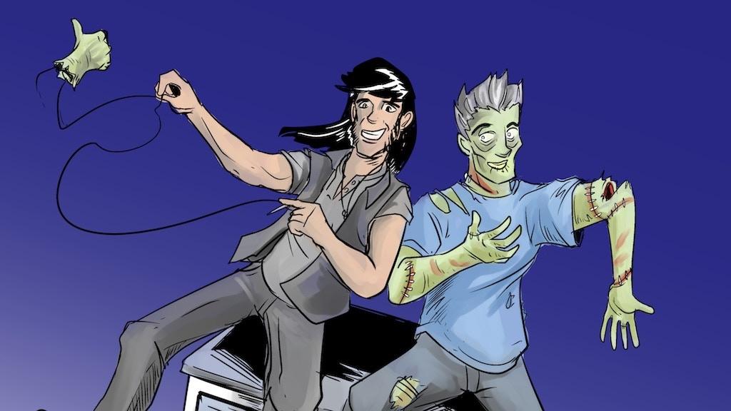 ZED #2 (a buddy roadtrip zombie superhero comic) project video thumbnail