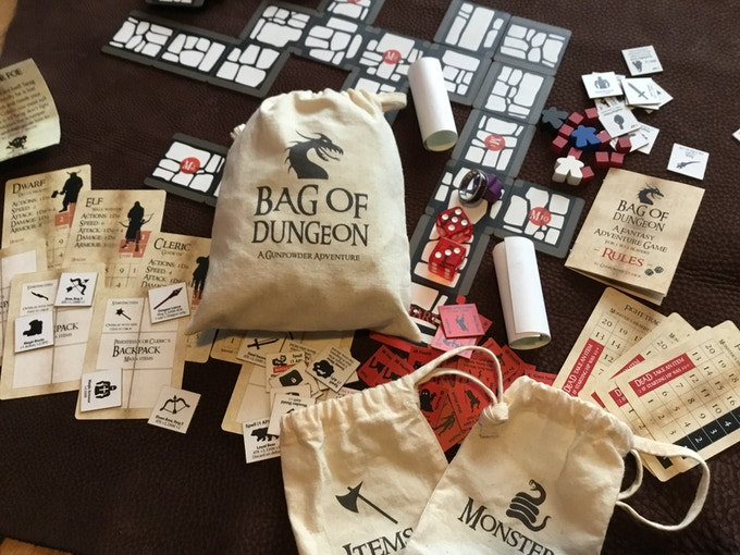 Bag of Dungeon - A Fantasy Adventure Game