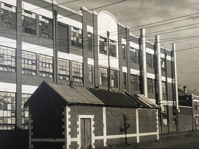 Former Barnett Glass rubber factory, today  known as The Dream Factory