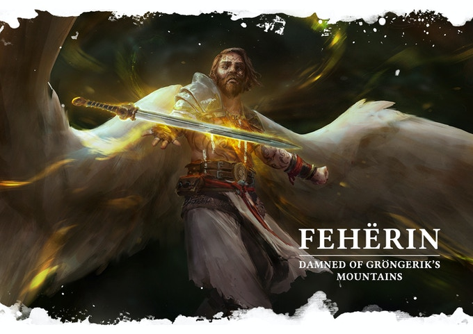 Fehërin is the Damned of the Muldrak mountain. He's the noblest Damned of the island and will propose difficult choices
