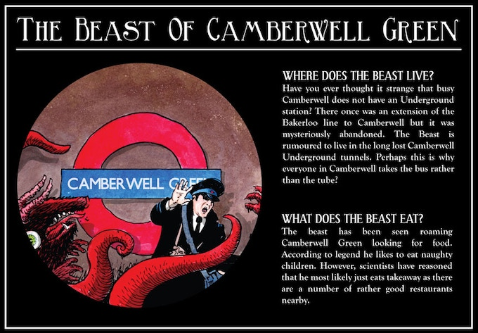 The Beast of Camberwell Green by Frog Morris