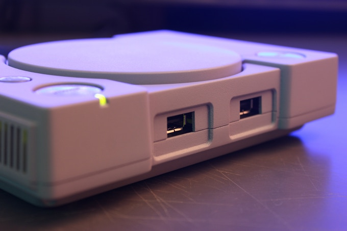 Front USB for controllers