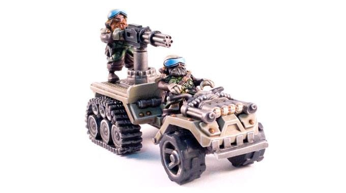 The War Buggy  (crew may vary)- 17$ add on
