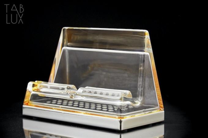 Amber Color Base: CHROME  Item code: TabluxB000 Price: 240,00 €