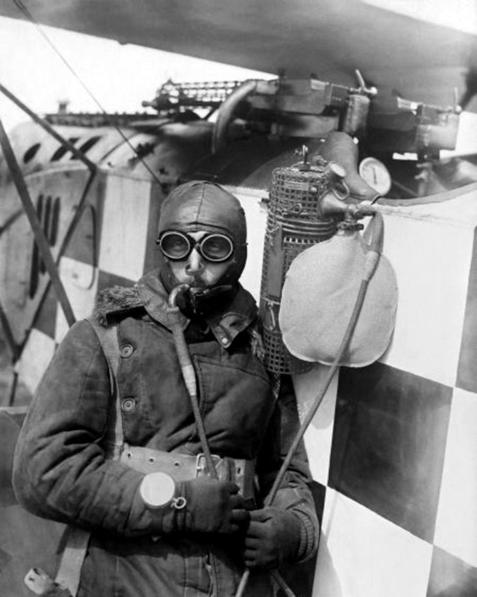 German Aviator, Circa 1917