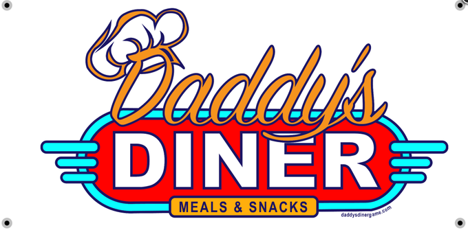 Daddy's Diner Game Sign