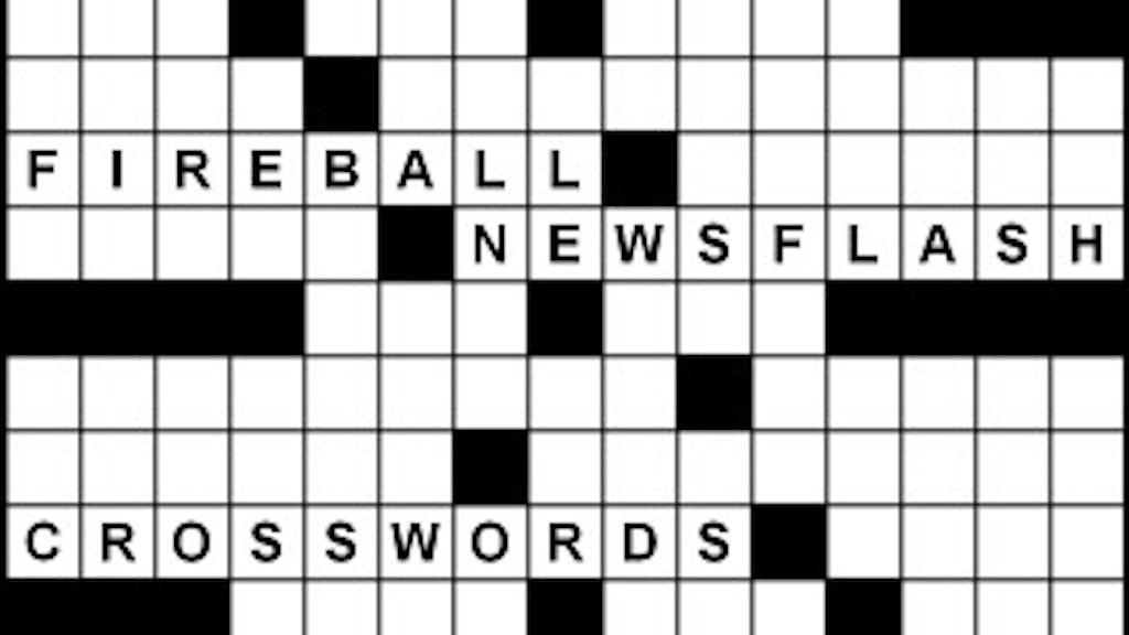 2019-20 Fireball Newsflash Crosswords project video thumbnail