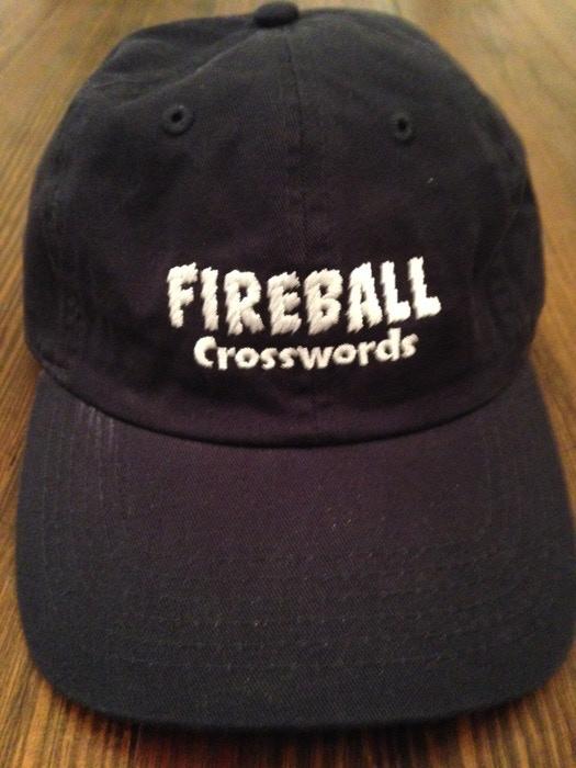 Fireball Crosswords baseball cap