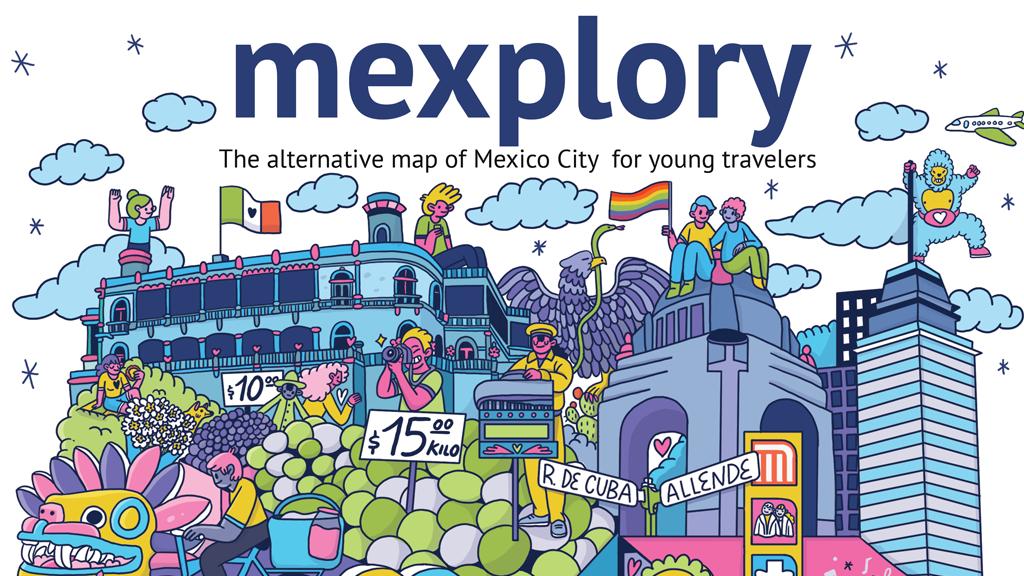 Mexplory: The alternative map of Mexico City