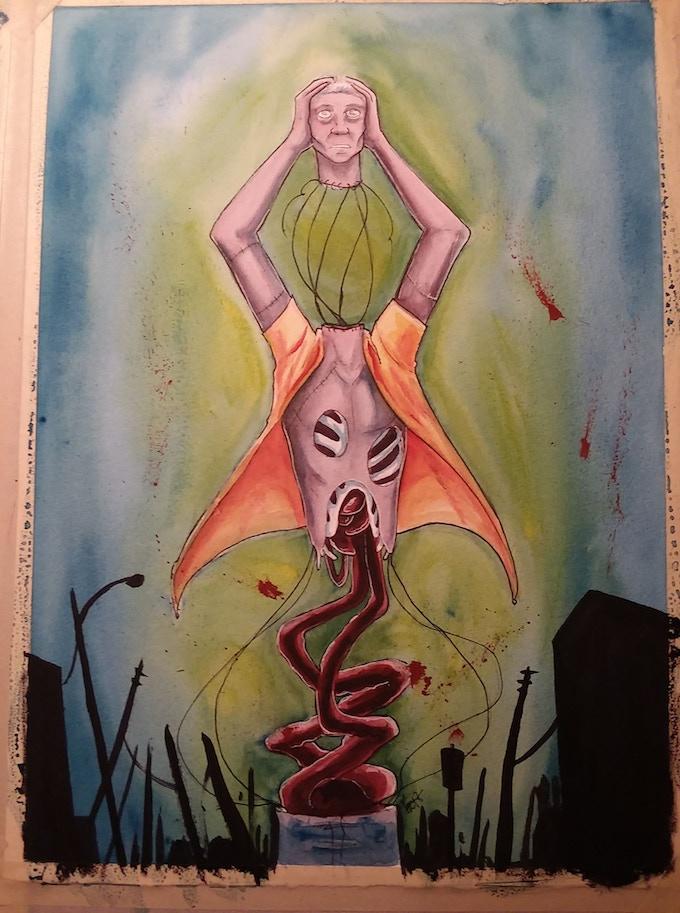 PULLED APART - by Katrina Kunstmann - $200