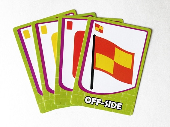 Yellow Cards, Red Cards, Offside!!