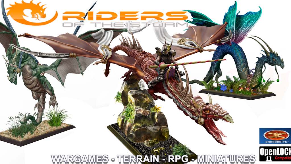 Riders Of The Storm: Elves, Dwarfs Miniatures and Dragons project video thumbnail