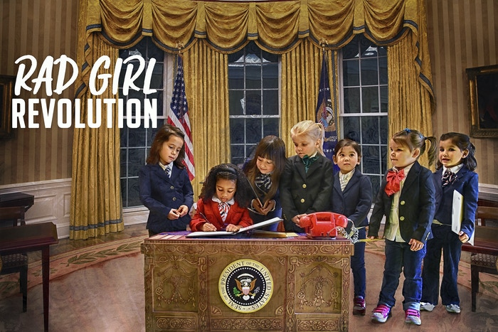 """Rad Girl Revolution"" is a book that shows young girls they can be anything - from a CEO or astronaut to an athlete or even President!"