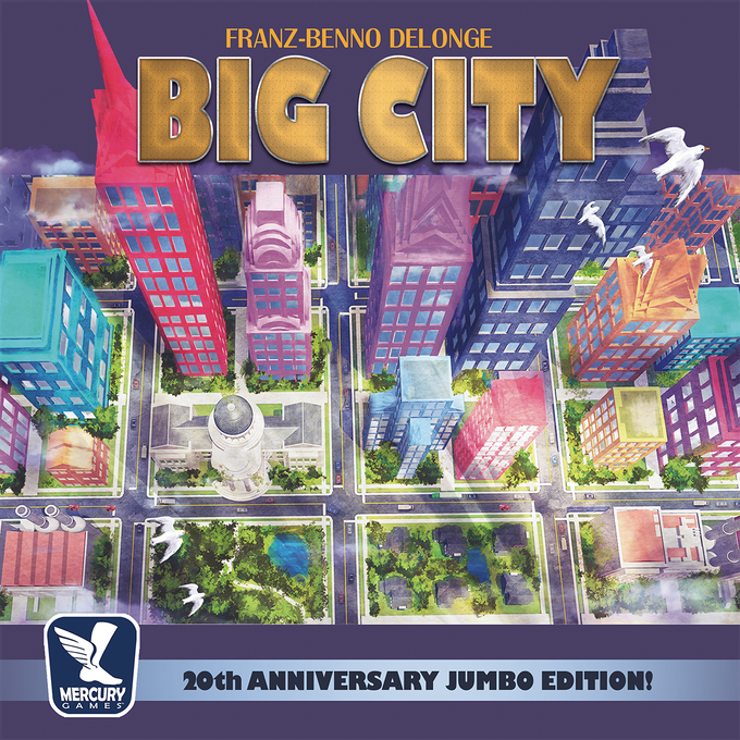 Big City: 20th Anniversary Jumbo Edition by Mercury Games