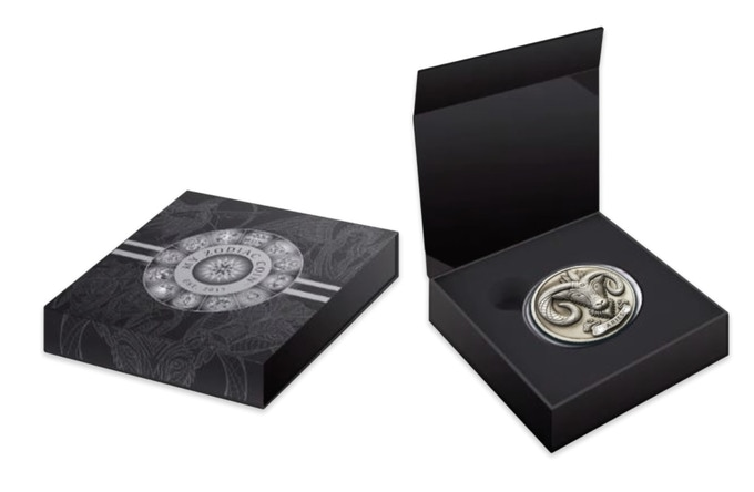 Each coin will be in a protective capsule and presented in a beautiful display box