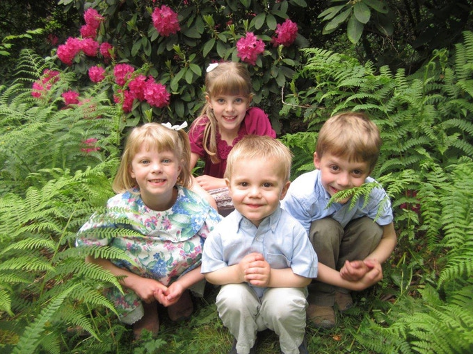 4 Adventurous Kids