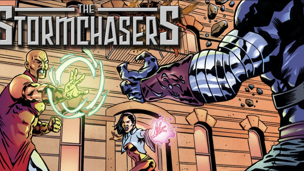 Stormchasers #2 redux in full color project video thumbnail