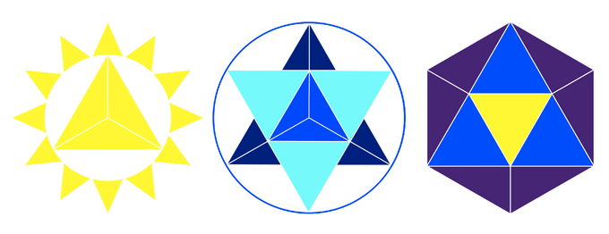 Sol (SOL), Blue (BLU), and Purple (PRP), the components of the cryptovoting system