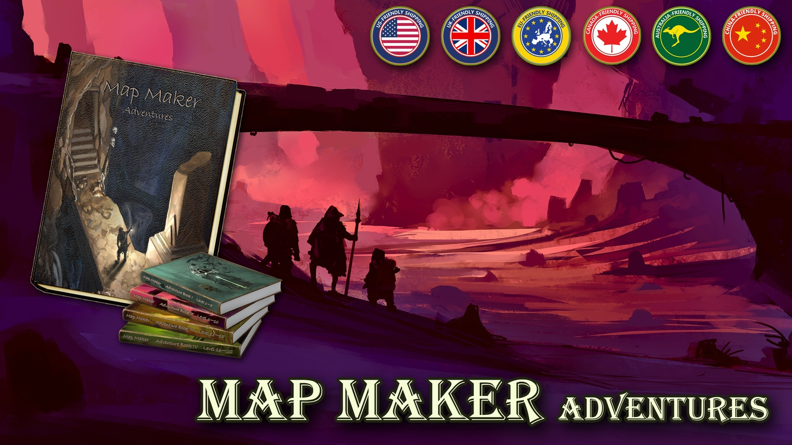 Map Maker Adventures is an old school, pencil and paper, dungeon crawl, role-playing game for 1~4 players, without a DM.