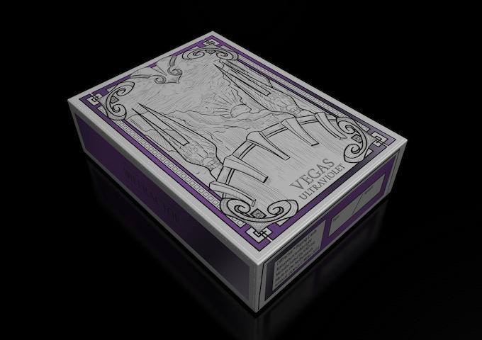 ULTRAVIOLET FOIL STAMPED TUCK BOX