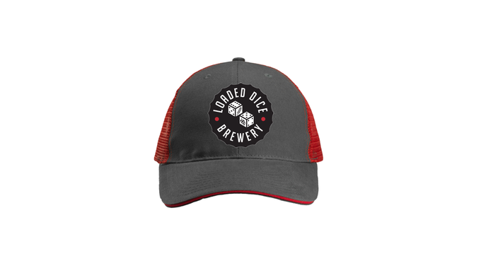 Hide that late-night, gin soaked bedhead with this KICKASS trucker hat!