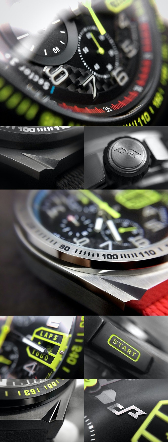 Paddock Chronograph in details