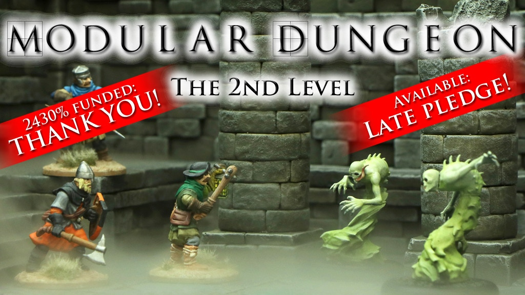 MODULAR DUNGEON - The 3rd Level project video thumbnail