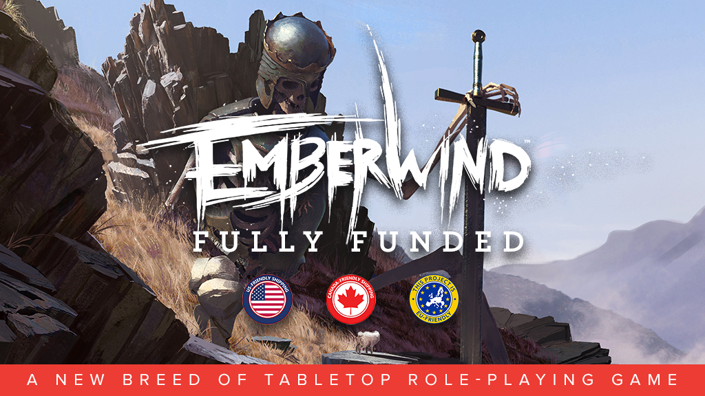 EMBERWIND: a new breed of tabletop RPG project video thumbnail