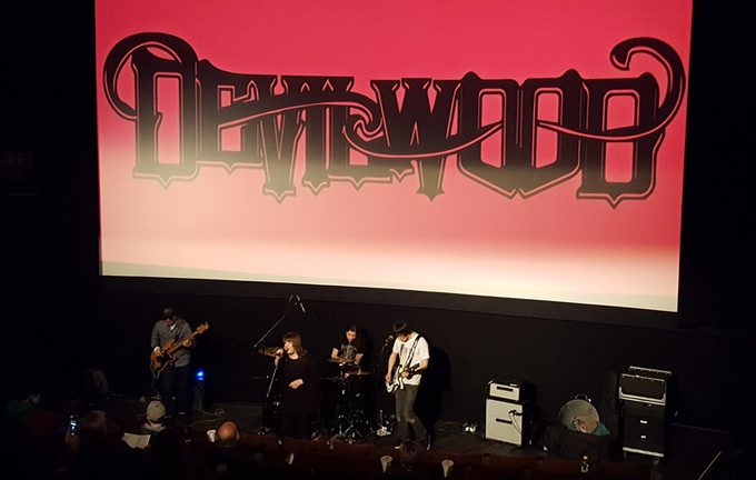 """Devilwood at the 2018 """"Comedy of Horrors"""" Film Fest!"""