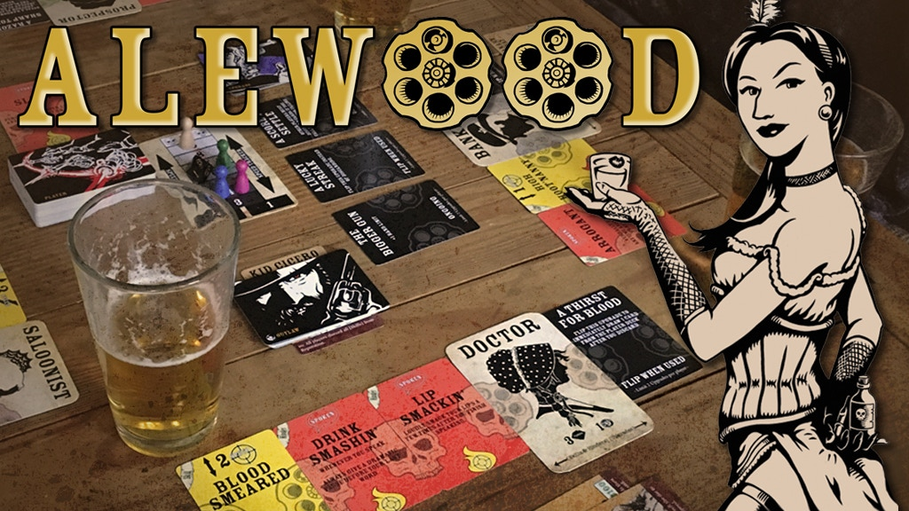 Alewood: The Bounty Hunting Drinking Game project video thumbnail