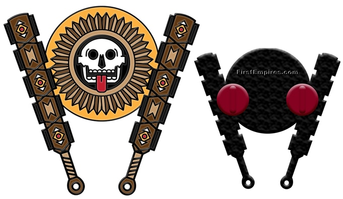 The Macuahuitl pin will be unlocked when we reach $300 in funding pledges.