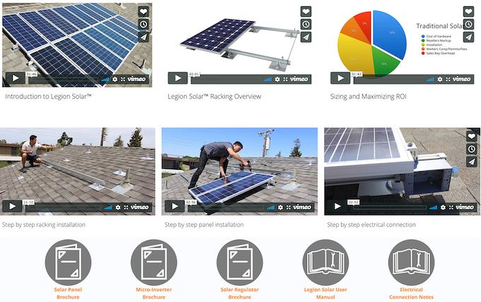 Legion Solar 3 - Permission Free Energy and Storage Solution by PLX