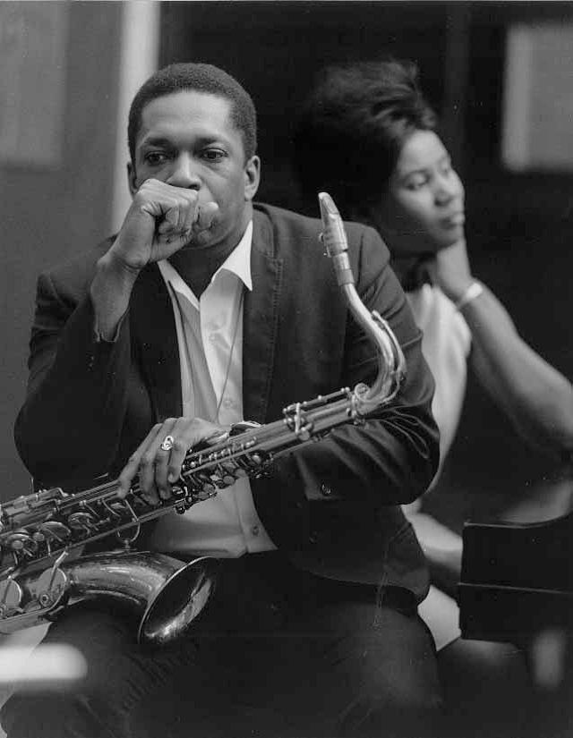 John and Alice Coltrane.