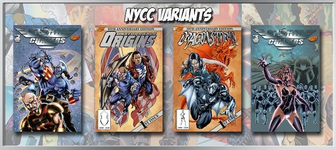 New York Comic Con Exclusives