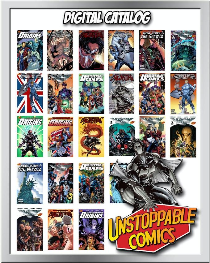 Unstoppable Comics Catalog