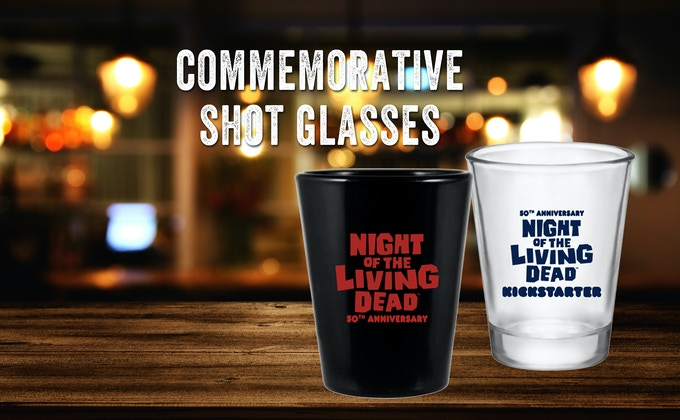Have a SHOT of the Living Dead - or with them...