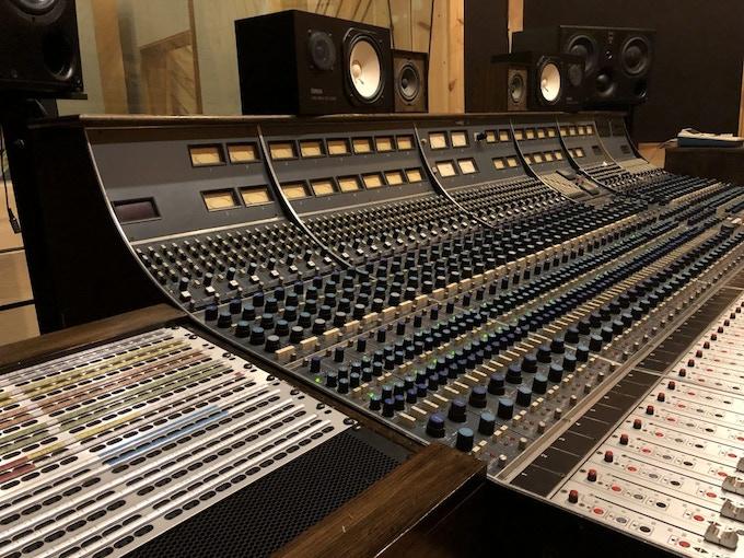 Studio A Recording Console