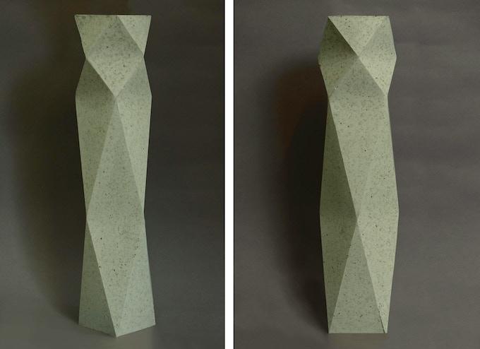 Peppermint Centre Piece Vase