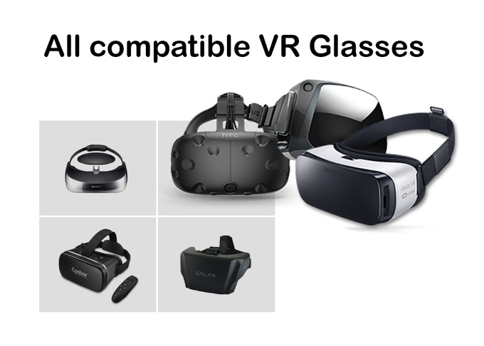 Vr glasses compatible