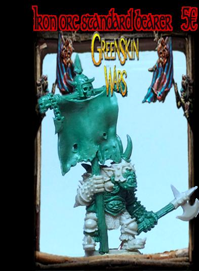Iron orc Standard bearer !
