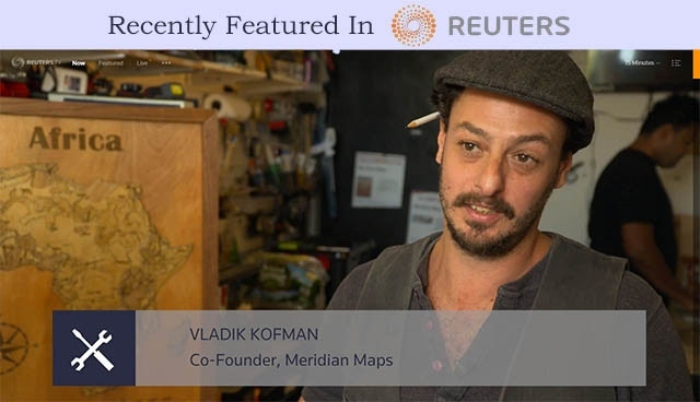 Click the image to watch our recent profile on Reuters TV
