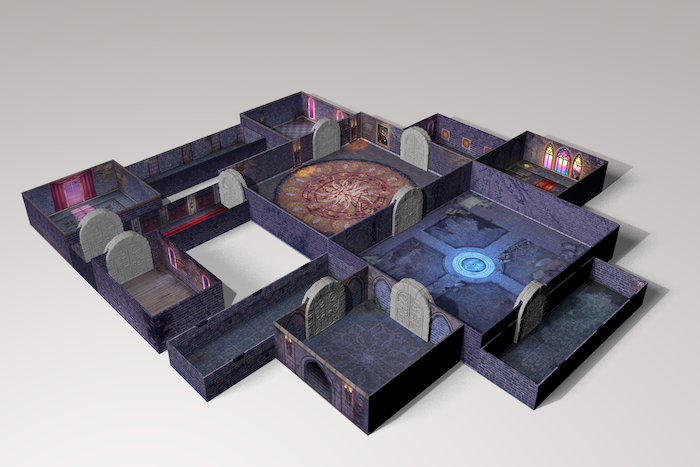 One square meter of dungeon in a box!